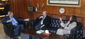 مجمع اللغة يوقع مذكرة تفاهم مع رابطة الكتاب الأردنيين