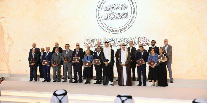 فوز عضو المجمع المؤازر الأستاذ الدكتور أسعد دوراكوفيتش بجائزة الشيخ حمد للترجمة والتعاون الدولي