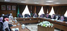 مبادرة صديقات الشريعة من الجامعة الأردنية تزور المجمع